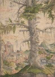 Albrecht Altdorfer Die kleine Fichte, ca. 1520–1522