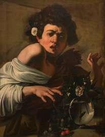 Michelangelo Merisi da Caravaggio (Mailand 1571–1610 Porto Ercole) Knabe, von einer Eidechse gebissen Um 1597/98