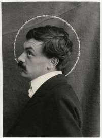 Porträtfotografie Koloman Moser, um 1903