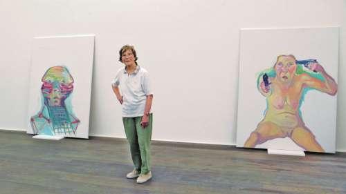 Ausstellungsaufbau bei Hauser & Wirth Zürich 2007