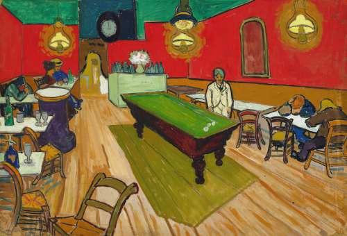 Vincent van Gogh: Das Nachtcafé in Arles, 1888