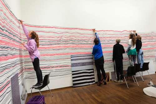 Ausstellungsansicht: Hundertwasser – Schiele. Imagine Tomorrow